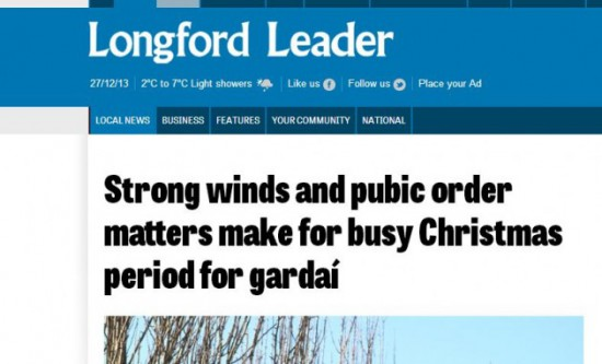 25 Amazing Irish Headlines - Blog - Irish ParcelsBlog – Irish Parcels